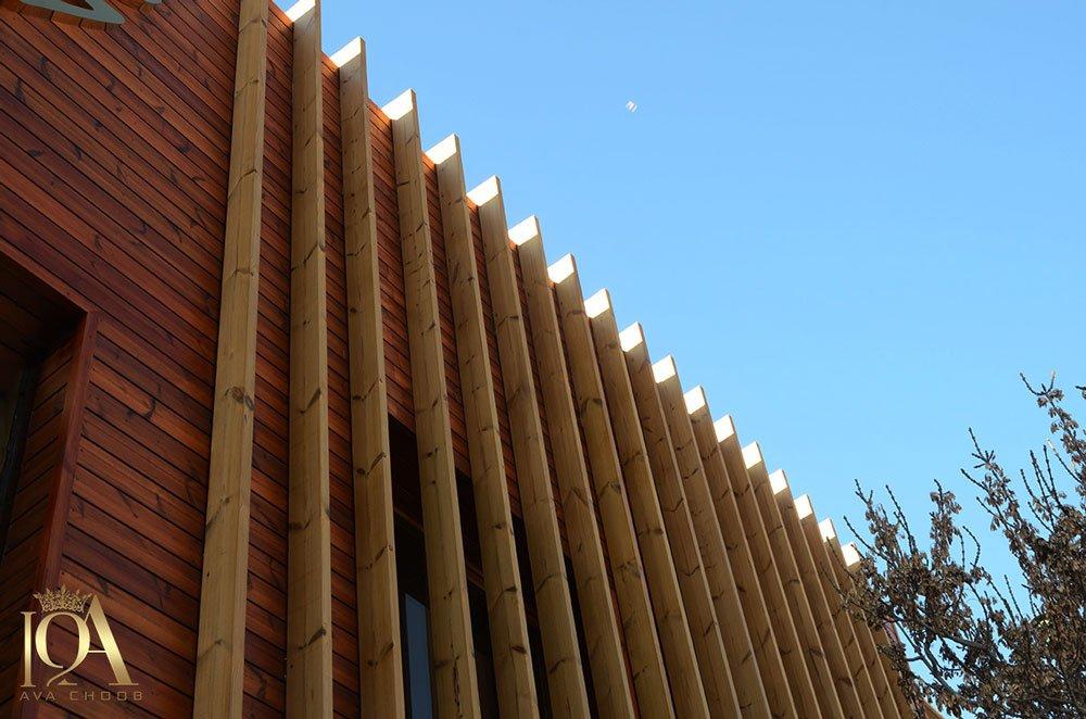 نما چوبی