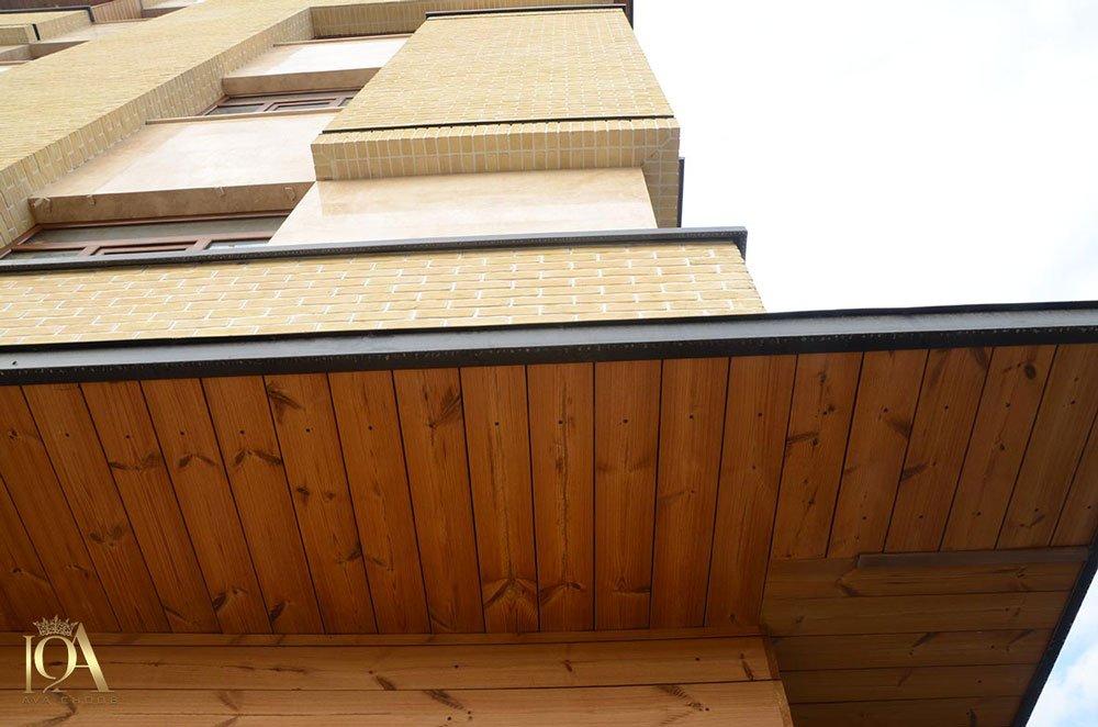 اجرای نمای ساختمان با ترموود