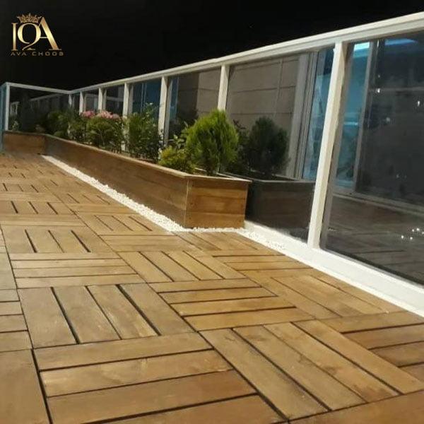 کاربرد تایل چوبی